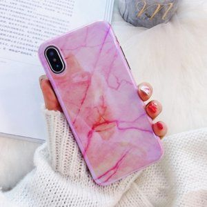 BOGO 50%off - iPhone 7/8/+/X/XS Blue Vray Marble